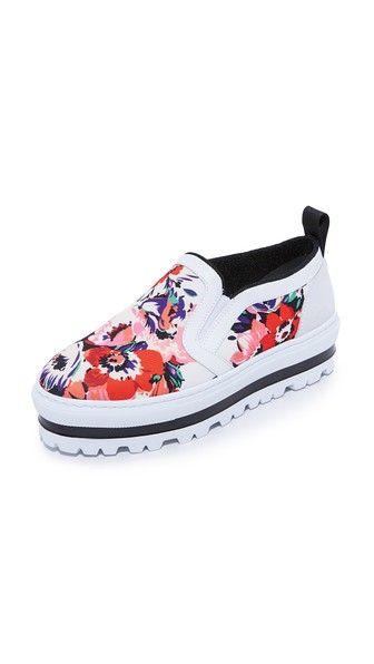 MSGM Slip On Sneakers | SHOPBOP