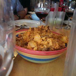 World famous basque potatoes