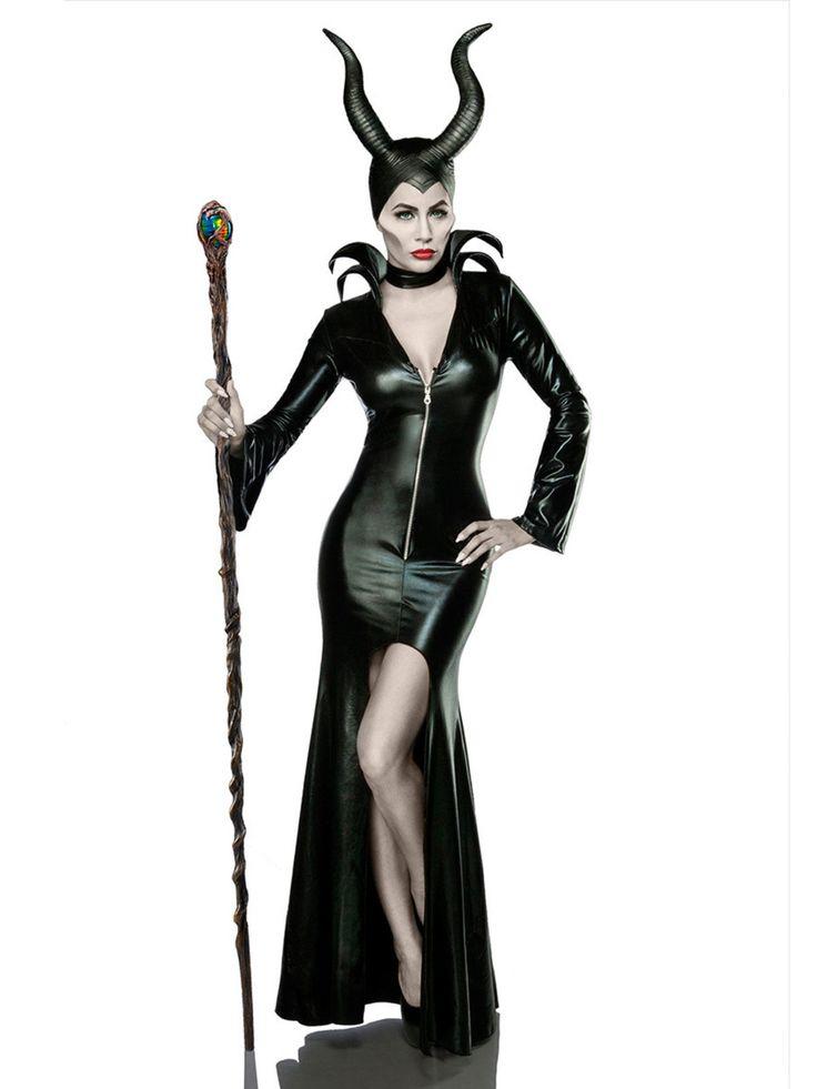 Böse Fee Halloween Damenkostüm Märchen Komplettset schwarz, aus unserer Kategorie Märchenkostüme. Diese böse Fee ist im ganzen Märchenland gefürchtet. Ihren dunklen Zauberkräften kann niemand trotzen und es ist nur eine Frage der Zeit, bis ihr alle Märchenfiguren zu Untertan sind. Ein sexy Kostüm für Karneval und Märchen Mottopartys.