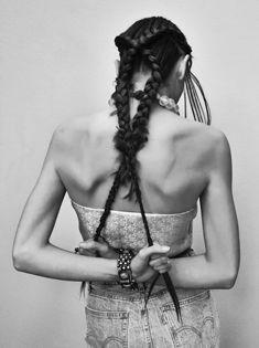 HAIR DIRECTION RENYA XYDIS @ THE ARTIST GROUP FOR WELLA PROFESSIONALS  KIRRILY JOHNSTON x COOPER ST EDIT SS15   Makeup: Liz Kelsh  @ 22 Management  Stylist: Kelvin Harries @ The Artist Group