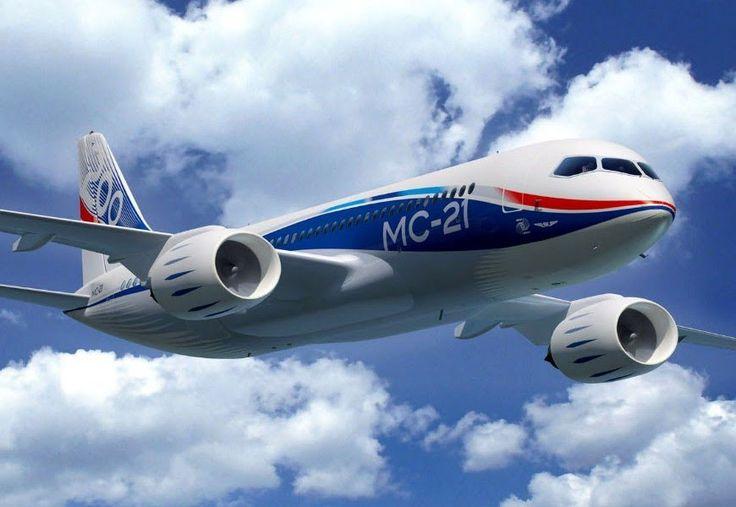 Новый российский пассажирский самолет МС-21 - будущее мировой авиации » Большие фото новости