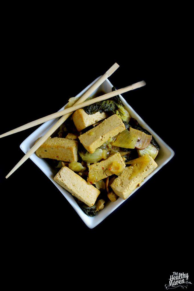 Slow-Cooker Coconut Basil Tofu - The Healthy Maven
