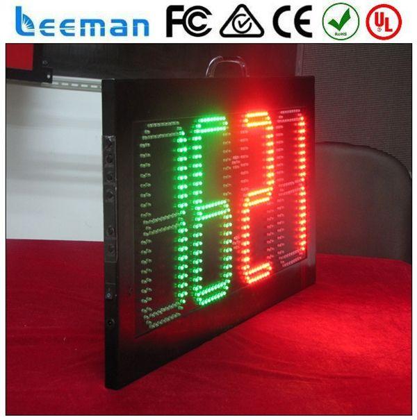 2018 2017 Leeman led soccer substitution board ---digital futsal scoreboard,football LED electronic scoreboard Wireless