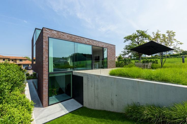34 best images about buro buiten on pinterest - Moderne landschapsarchitectuur ...
