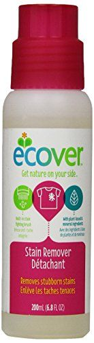 Ecover Natural Plant-based Stain Remover, 6.8 ounce - Ecover Stain Remover Detachant, 6.8 fl oz. Removes stubborn stains, like grass, mud, grease, and more. Convenient, built-in brush helps lift stains away. Made using renewable plant-based & mineral ingredients.   - http://ehowsuperstore.com/bestbrandsales/industrial-scientific/ecover-natural-plant-based-stain-remover-6-8-ounce