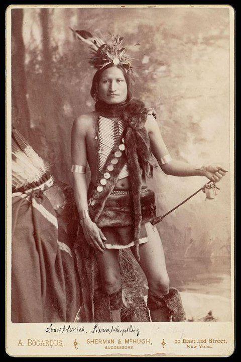 Loves Horses - Northern Cheyenne - circa 1885