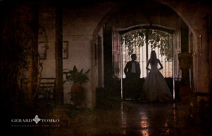 Timeless Bride and Groom portrait. Argentina destination wedding. Day after session. Ancient Winery House and Museum in San Juan, Argentina. Wedding Photographer | Gerard Tomko.