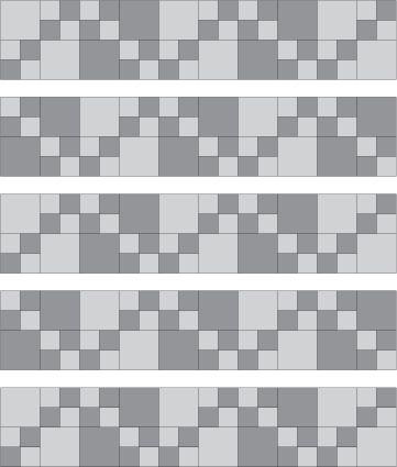 Easy Double Four Patch Scrap Quilt Pattern: Assemble the Double Four Patch Quilt