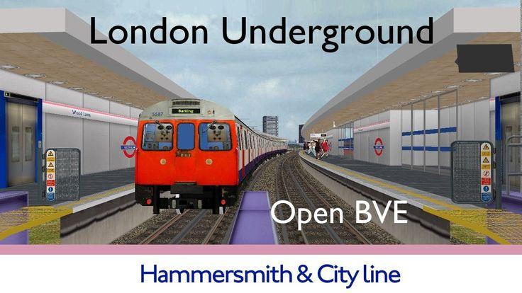 London Underground Simulator Hammersmith & City Line #tfl #tube #londonunderground #london #simulation #gaming