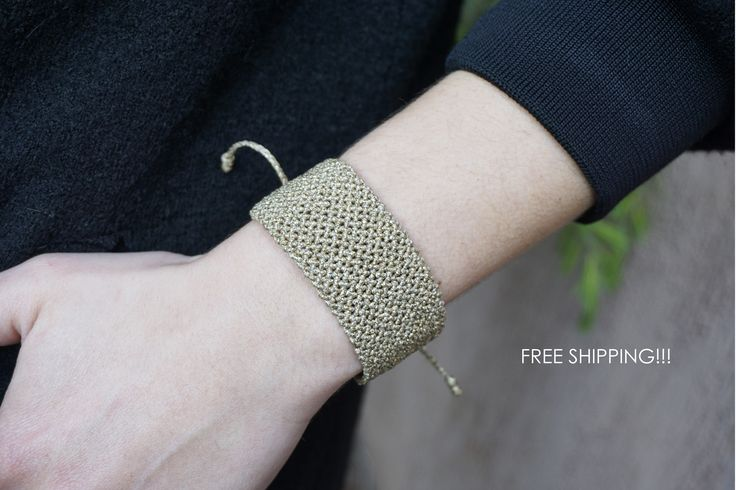 FREE SHIPPING Statement cuff bracelet - adjustable lengh, limited edition!!