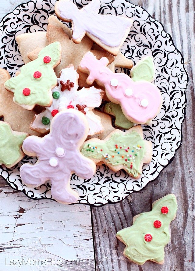 Simply Perfect Sugar Cookies Recipe — Dishmaps