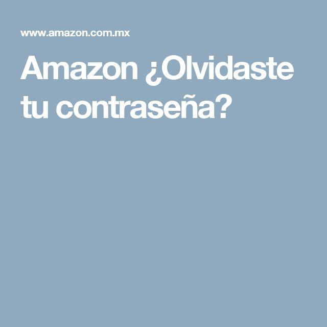 Amazon ¿Olvidaste tu contraseña?