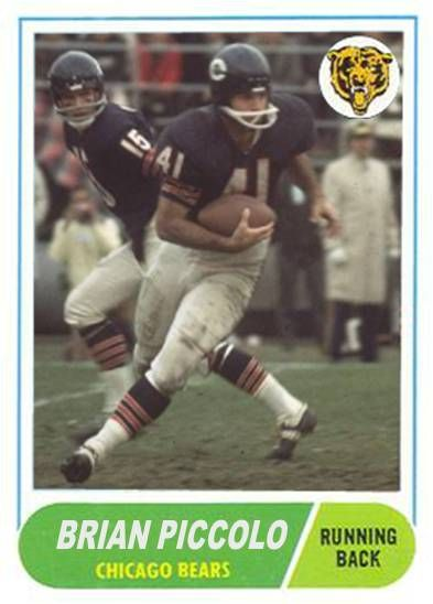 Brian Piccolo Chicago Bears