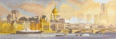 Heritage John Clayton #crossstitch  London Skyline #chart #DIY #crafts #decor #needlework #crossstitching