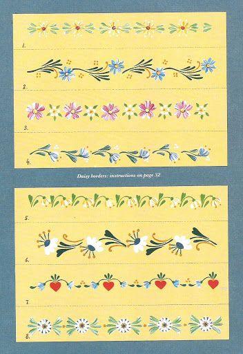 step-by-step Folk ART Flowers - senia One Stroke - Álbuns da web do Picasa