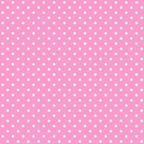 Border Art Minnie Clip Mouse Pink