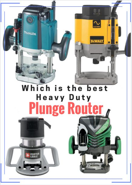 The heavy duty plunge router is one of the most versatile tools you can own. Here we compare the features of four of the best. - http://timberframehq.com/heavy-duty-plunge-router-review/?utm_content=bufferfa464&utm_medium=social&utm_source=pinterest.com&utm_campaign=buffer