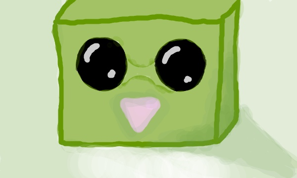 have you seen this baby slime :D