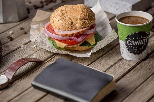 Gawatt take-out coffee-shop on Branding Served