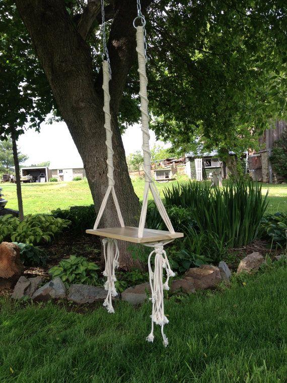 ways hang swing live tree .