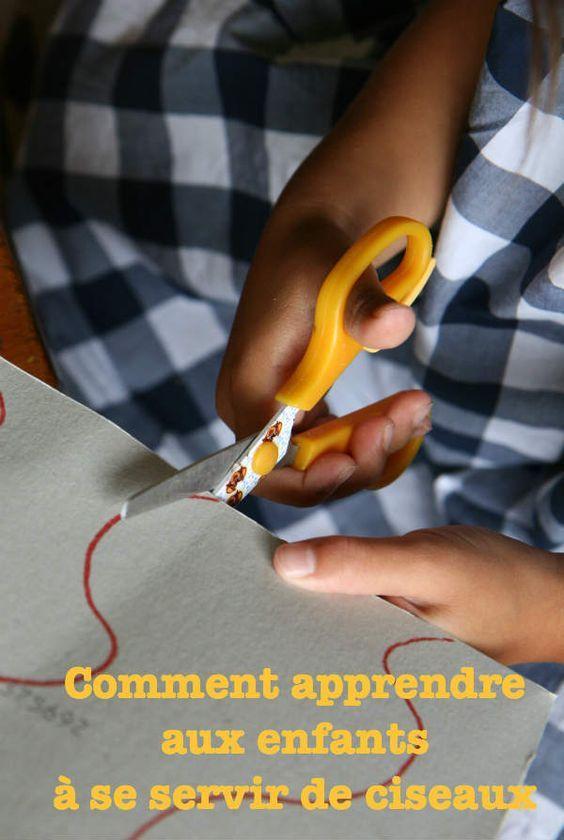 Apprendre à découper http://www.cabaneaidees.com/2014/08/10-idees-pour-apprendre-aux-enfants-a-utiliser-des-ciseaux/