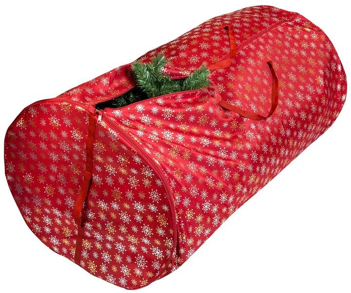 This year you're giving yourself the gift of time by storing your shrub in this 5-Foot Christmas Tree Storage Bag. #affiliate