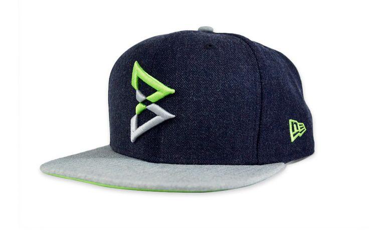 Beast Mode Hat, hawks colors 9FIFTY Navy / Green Snapback – Beast Mode® Apparel