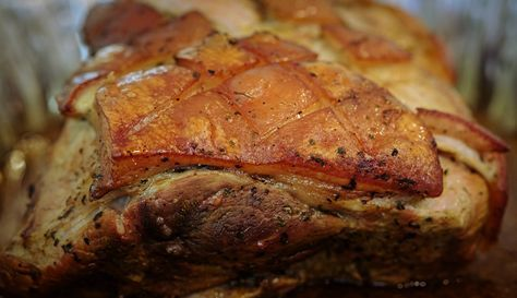 The ONLY Puerto Rican Pernil recipe post you will ever need. Tips and tricks to cook this roasted pork like a true local.