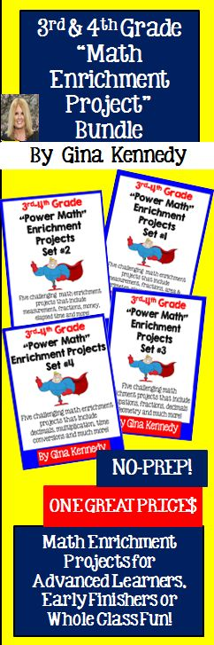 6th grade math projects Solving math problems can intimidate sixth-graders, but by using a few simple formulas, students can easily calculate answers to worksheet questions.