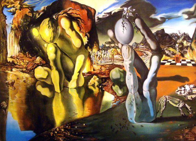 Salvador Dali -  La métamorphose de Narcisse - 1937