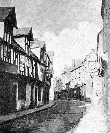 Lichfield Street, Wolverhampton in 1870
