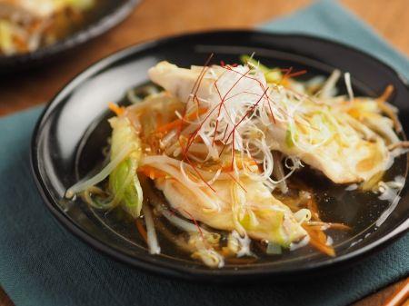 白身魚のあんかけフライパン蒸し 、 簡単豪華、おもてなし料理にも|魚料理と簡単レシピ