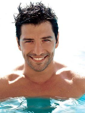 'Sakis' Rouvas famous greek pop singer  and one of the most handsome and  beautiful men in greece