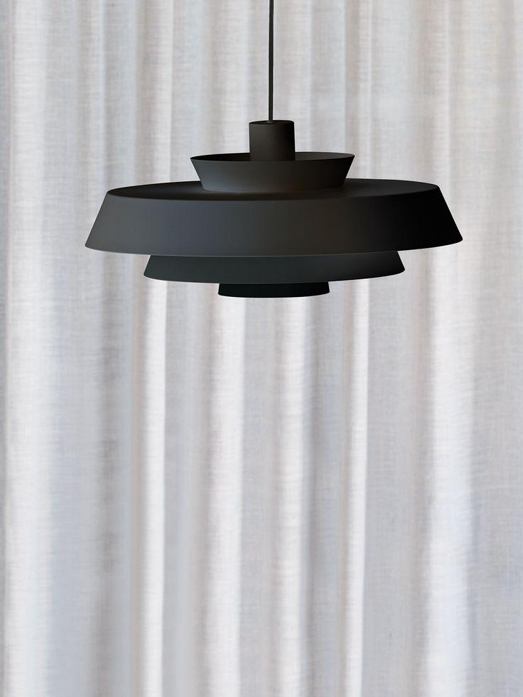 Harlow Large Pendant in Black
