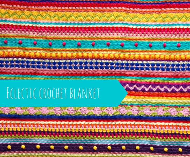 crazy crochet blanket reveal
