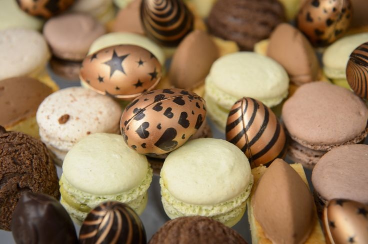 Hand made Easter chocolate at Aubaine!