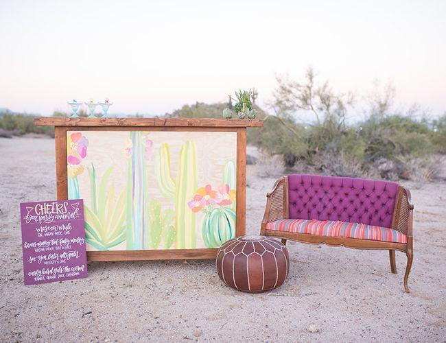 Vibrant Southwestern Desert Elopement - Inspired By This