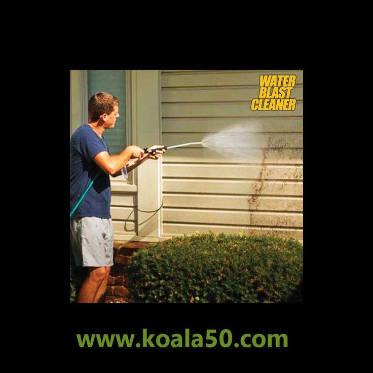 Pistola de Agua a Presión Water Blast Cleaner - 15,69 €   ¡Ahorra tiempo a la hora de limpiar tu hogar con la pistola de agua a presión Water Blast Cleaner!Es una lanza a presión de aguaque convierte cualquier manguera de jardín en una estupenda...  http://www.koala50.com/mangueras-sistemas-de-riego/pistola-de-agua-a-presion-water-blast-cleaner