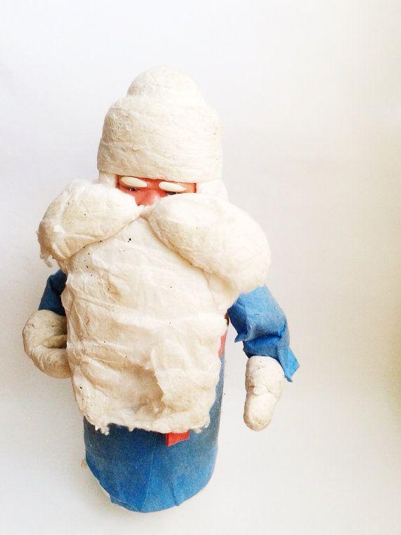 Vintage Soviet Christmas Toy Ded Moroz Santa Clause by TetyaGalya