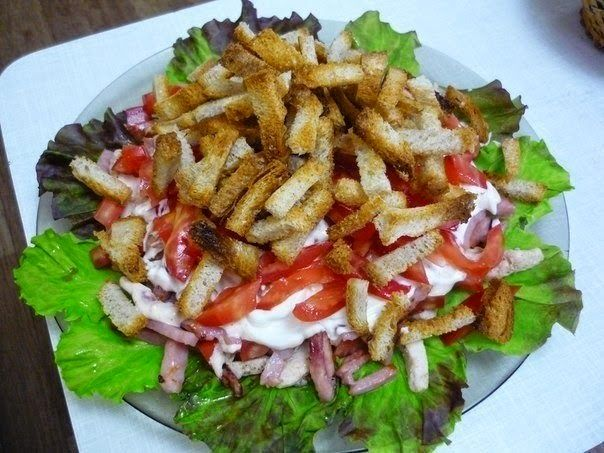 "Самые вкусные рецепты: Салат ""Кармен"""