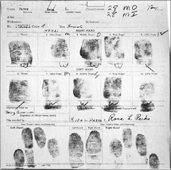 An Act of Courage, The Arrest Records of Rosa Parks