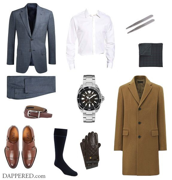 Style Scenario: The Dressed Up Holiday Party  What are you going to wear? Sometimes its good to look at a few suggestions then add your own tweaks and ideas. Thats what these are for. To the long-time readers of this corner of the web a tieless suit is pretty familiar. But just because its been done before doesnt make it the wrong play. If youre headed to a dressed upaffair whether it be a work holiday party or New Years one way to look more dashing (while dashing through the snow) and less…