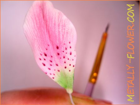 Роспись цветов из ХФ