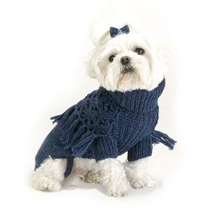 Dog Sweater Knitting Pattern For Maltese : 1131 best images about for pets on Pinterest Crochet dog sweater, Dog coat ...