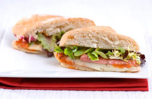 Presto Pizza Sandwiches   Recipes & Tips   Mezzetta.com   Don't Forgetta Mezzetta  ~XOX  #MomAndSonCookingTeam