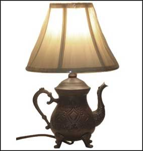 image result for vintage lamp - Kitchen Table Lamps