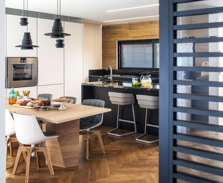 A House Designed For Couple To Work From Home So They Can Spend More Time With Their Children Tal Goldsmith Fish Design Studio Have