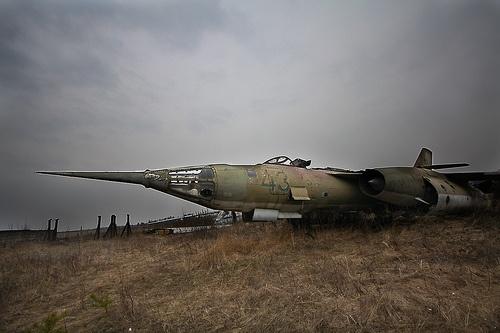 Abandoned Russian WW2 plane