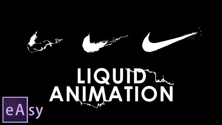 "By popular demand, I have made this tutorial. In one of the previous videos I made a Nike logo with liquid animation and many people asked me, ""Dude, how did..."