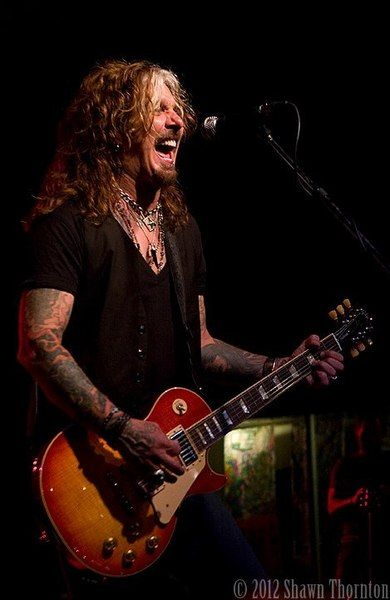 """Check out John Corabi on ReverbNation - This guy is my """"brush"""" with a celebrity!"""